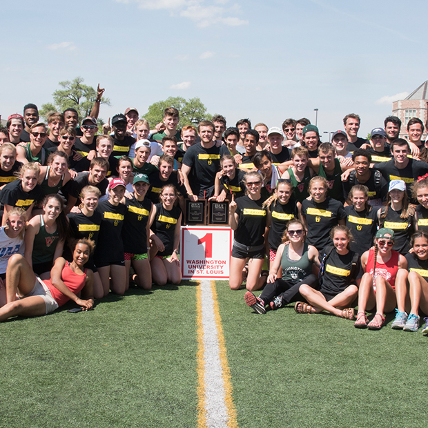 WashU outdoor track and field teams
