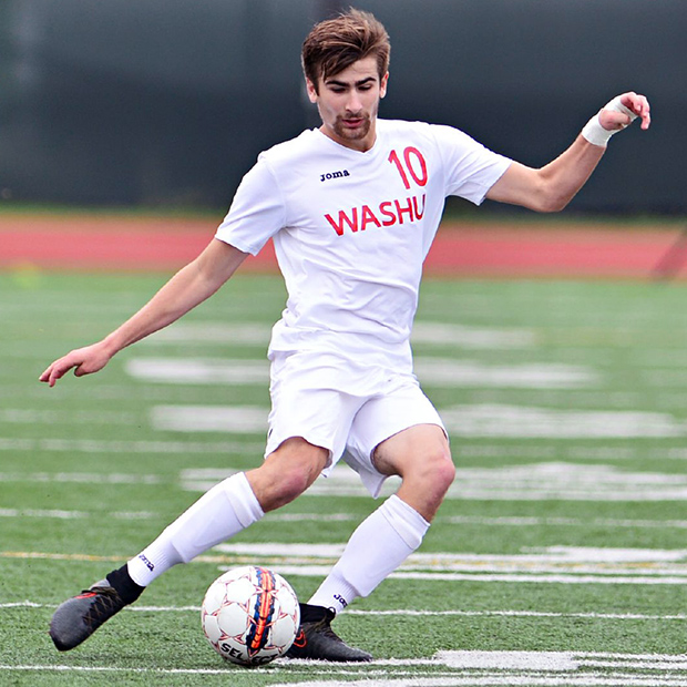 Jack West Playing Soccer