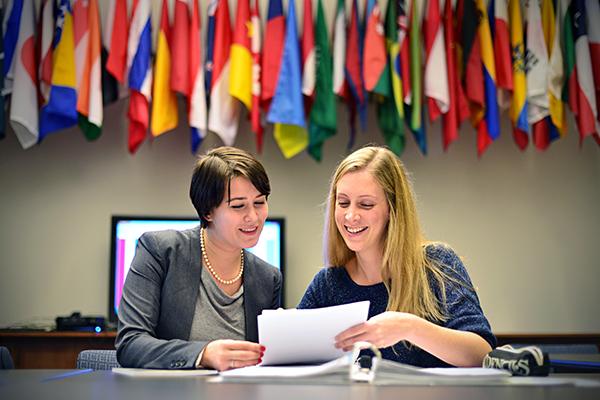 International law students