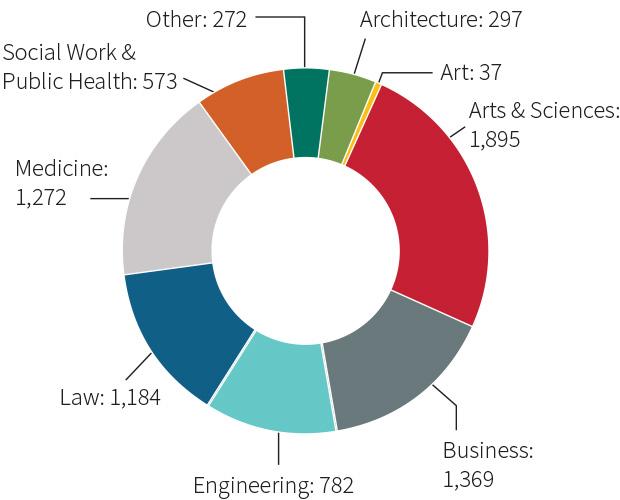 enrollment chart - graduates
