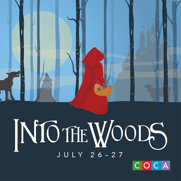 Into the Woods, July 26-27, COCA