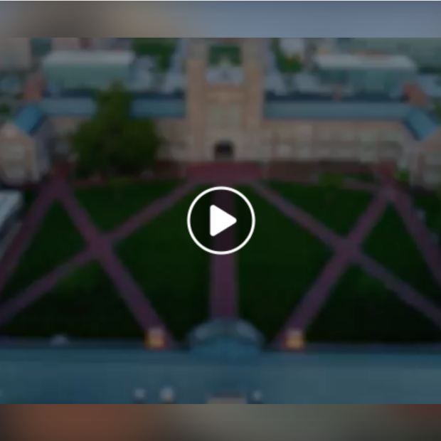 screenshot of campus with a play button over laid