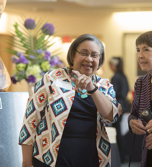 Ida Early at Chancellor's Luncheon