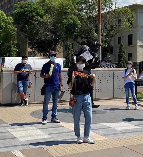 washu students in the loop