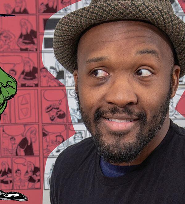 Comic book artist Dmitri Jackson