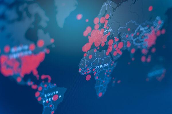 global covid map