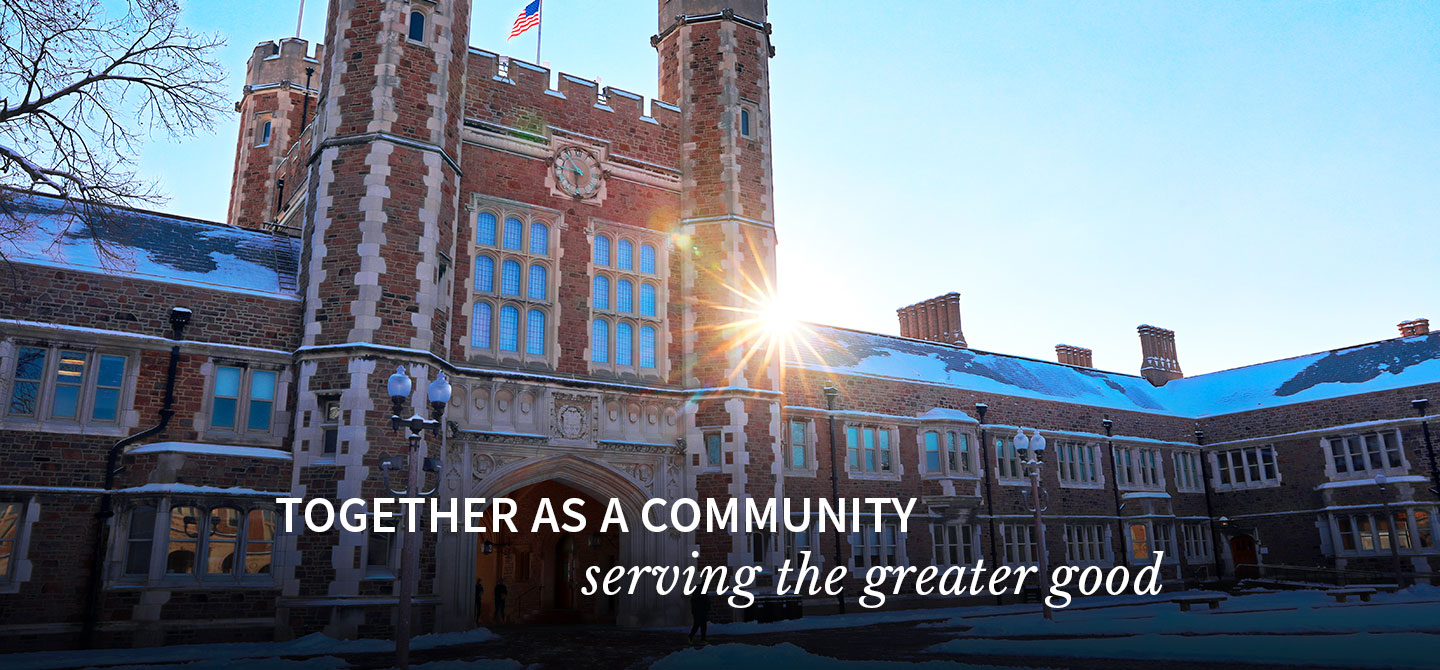 Together as a community, serving the greater good.
