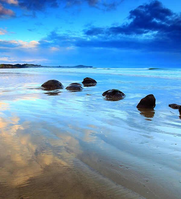 Moeraki Boulders, South Island of New Zealand