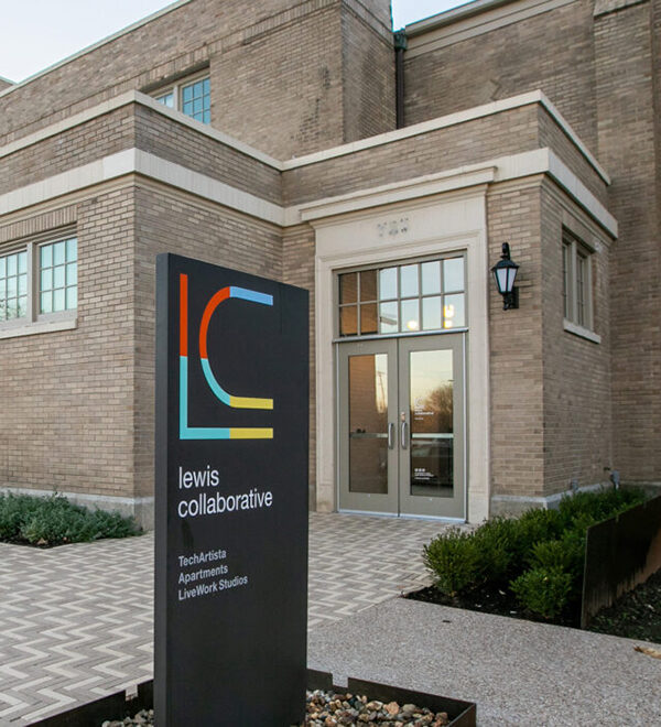 Front of Lewis Collaborative