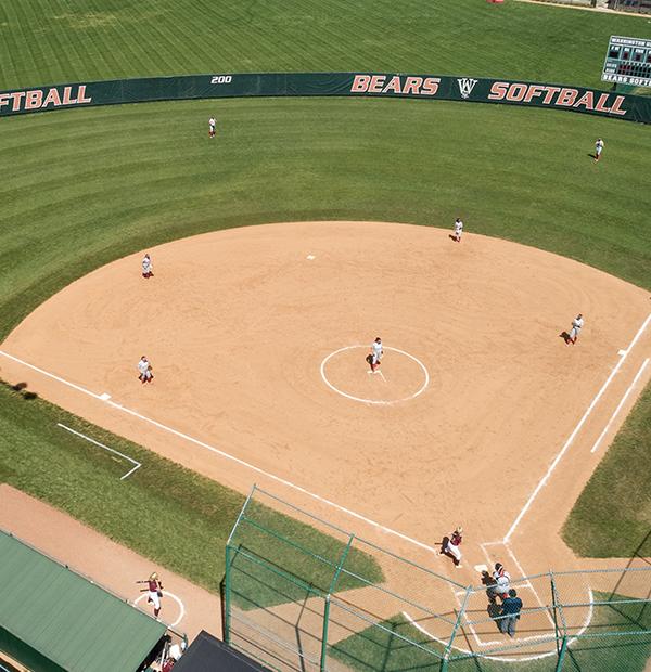 WashU softball field