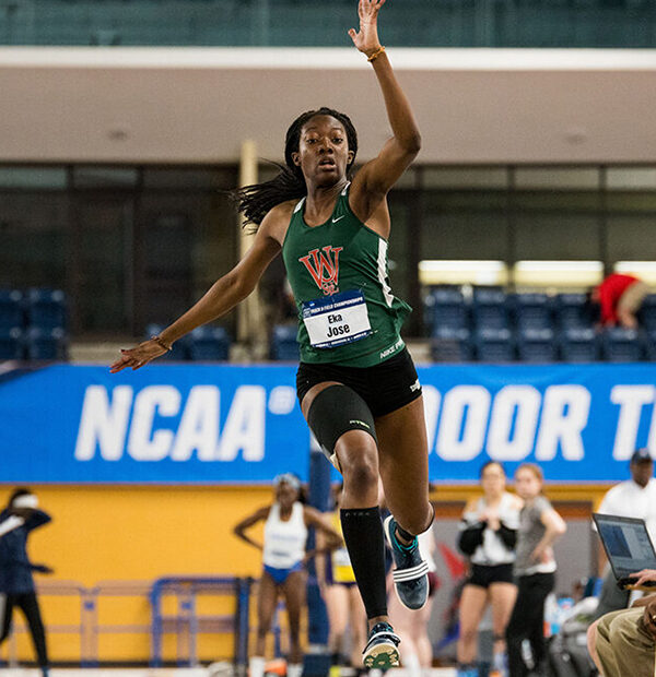 Eka Jose jumping