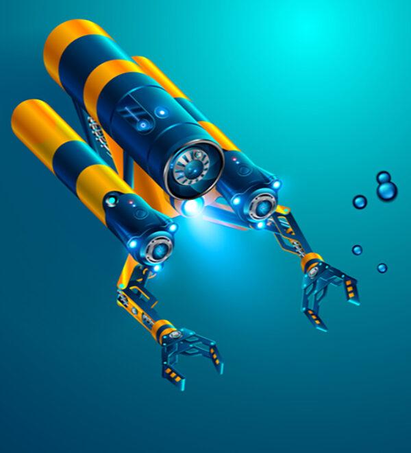 digital illustration of submersible